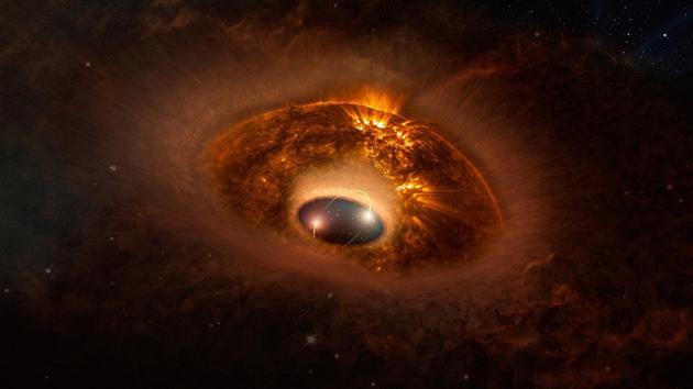科学家猜测:外星人会在黑洞附近使用引力波通