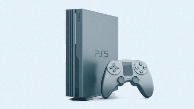 PS5 概念图(来自:WinFuture,viaBGR)