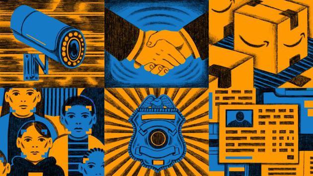 亚马逊与政府正创造政府监控层 出售人脸识别系统