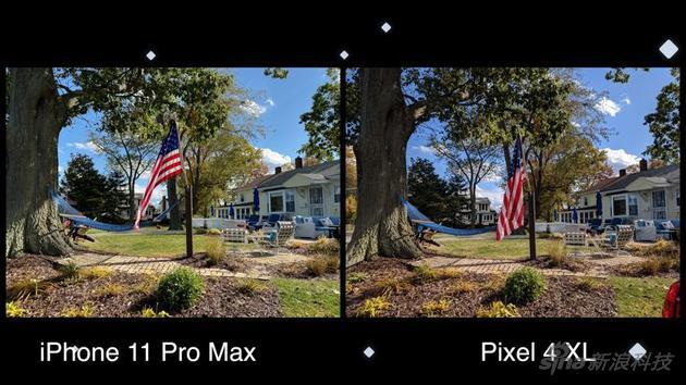 正常光线的照片对比