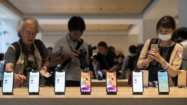 苹果第四财季大中华区销售额79.5亿美元 同比下降28.5%