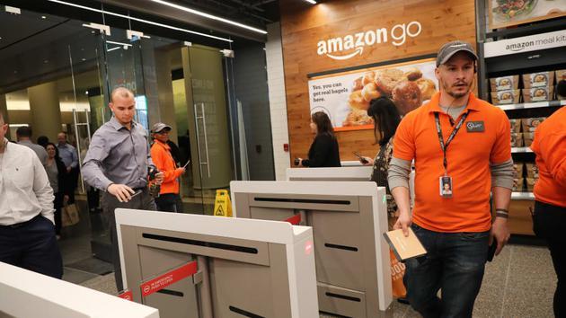 亚马逊手掌支付进行终端测试 Visa等成合作伙伴