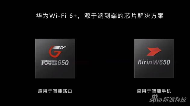 华为推出两款支持WiFi 6+芯片