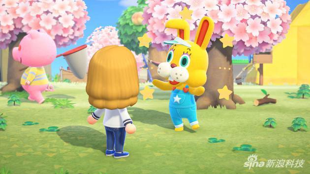 这只名叫蹦蹦的兔子在人前蹦蹦跳跳,没人看它时就会显出颓废的一面