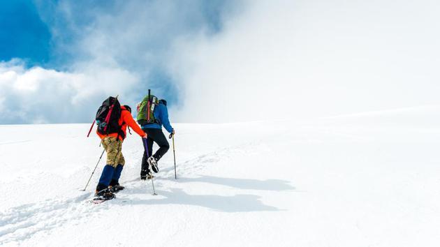 如今,人们可以轻而易举地登上许多山峰之巅,但许多人将登山的努力视为回报的一部分