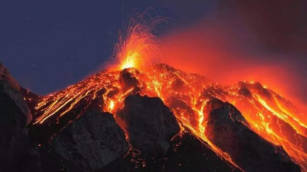 火山喷发(图片来自网络)