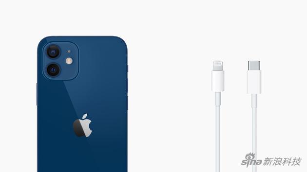 iPhone 12不在配备充电器