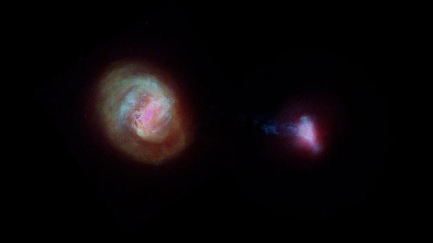 盖亚还提供了附近矮星系的新信息——大麦哲伦星云和小麦哲伦星云