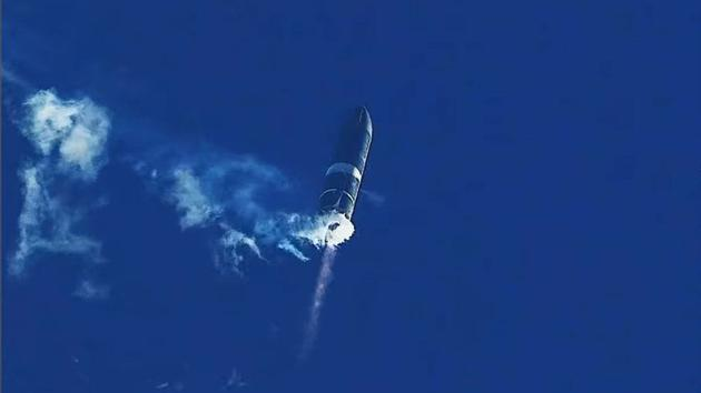 星舰SN8在飞行中几乎完成了所有预定的目标