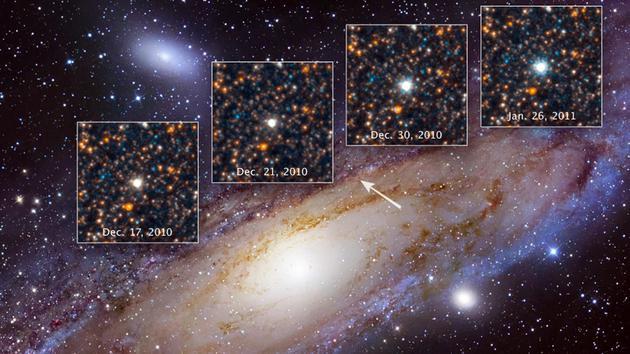 类似造父变星这样的脉动恒星可以用来测量宇宙中的距离,并解释宇宙膨胀的速度。