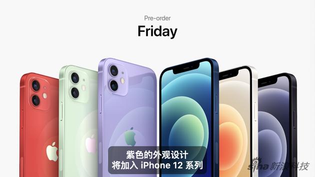 iPhone 12新添紫色