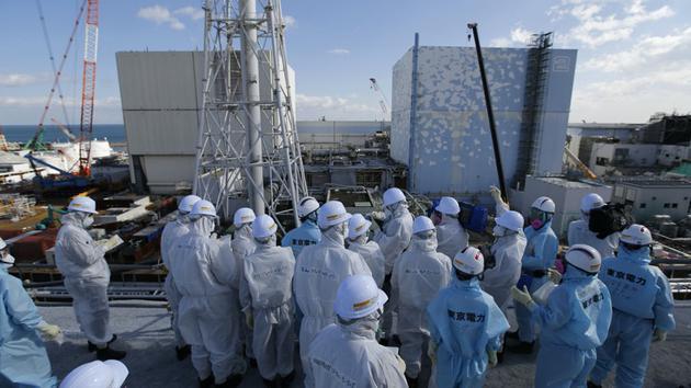 资料图:福岛第一核电站事故