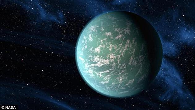"""开普勒-22b是一颗距离我们600光年的""""超级地球"""",许多人认为它可能是一个海洋行星。芝加哥大学和宾夕法尼亚州立大学的一项新研究发现,海洋行星保持在适居性""""最佳位置""""的时间可能比原先假设的更长。"""