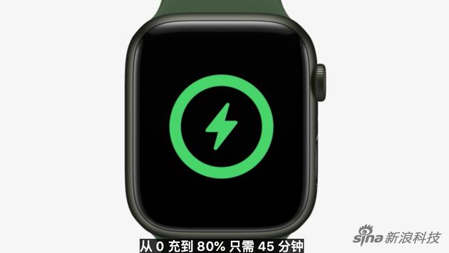手表在6代快充的基础上再快充