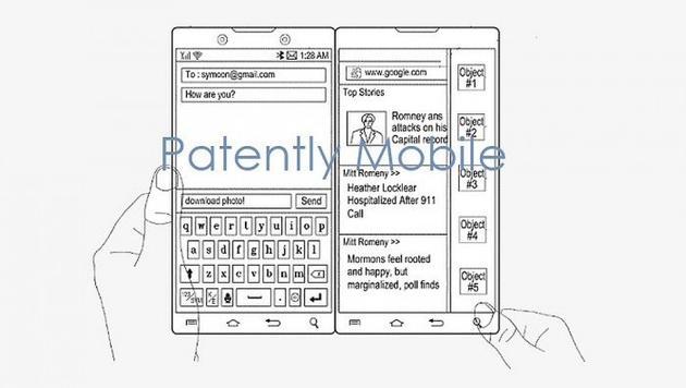三星申请双屏智能专利与微软Surface Duo十分类似