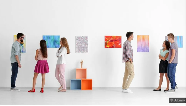 """博物馆或艺术画廊这样的空间提供了你需要的机会,与另一个人创造""""分享现实体验""""。"""