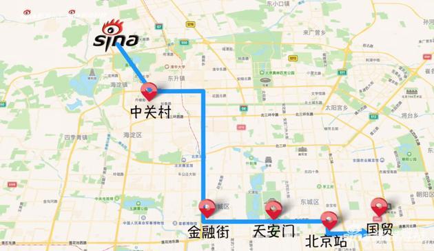 北京金融街、长安街等地都能体验5G信号