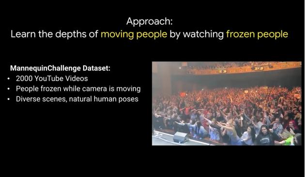"""谷歌AI研究员利用YouTube""""假人挑战""""改善深度预测"""