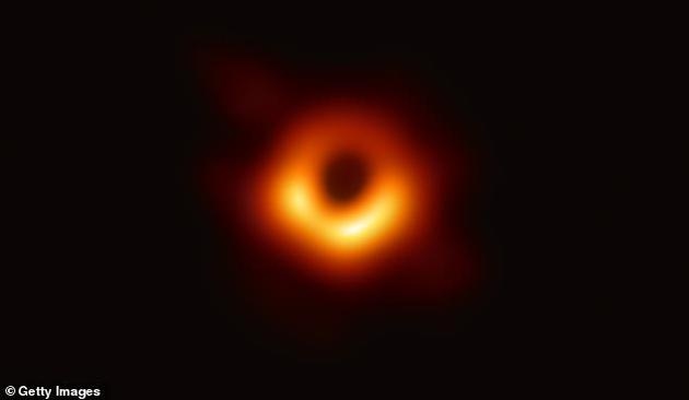 """這些所謂的""""暗能量泛型體""""(GEODEs)起來就像一個黑洞(如圖),但沒有一個引力幾乎無窮大的奇點"""
