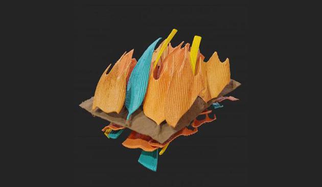 飞蛾的翅膀上覆盖着成千上万个这样的小鳞片,每一个都不到1毫米长,厚度只有几百微米