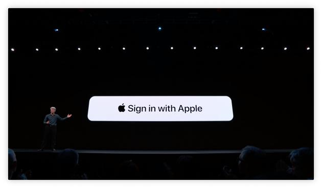 苹果新增Sign in with Apple 取代谷歌或Facebook帐号登录