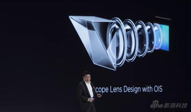 P30 Pro内部有个潜望镜式镜头,所以能实现更多倍数的光学变焦