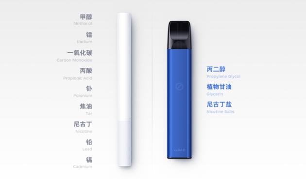 小野电子烟宣传页