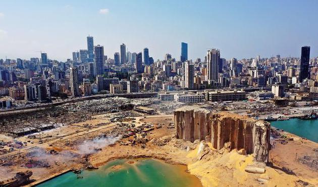 黎巴嫩贝鲁特港口大爆炸