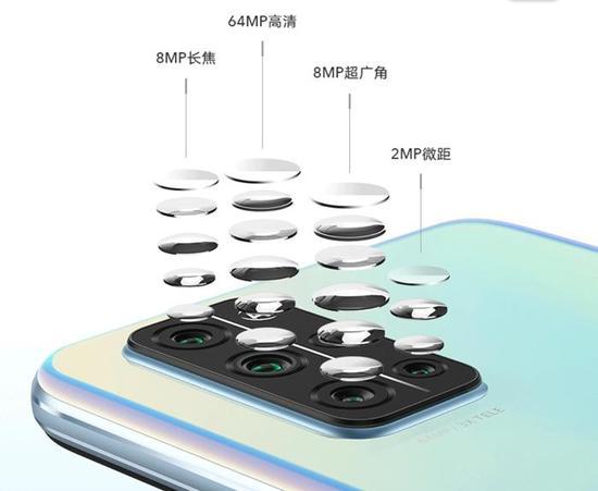 不少手机加入微距摄像头。图片来源:华为商城截图
