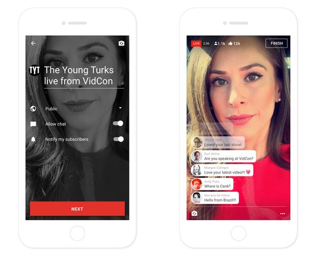 直播现在有多火:YouTube也要推出手机端直播功能