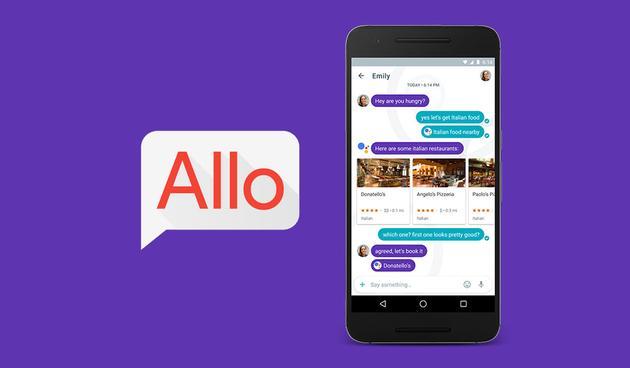 谷歌新消息应用Allo试用体验:它能提前知道你想说什么