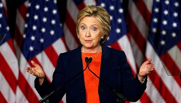 "FBI重启对希拉里""邮件门""调查 美国股市应声下跌"