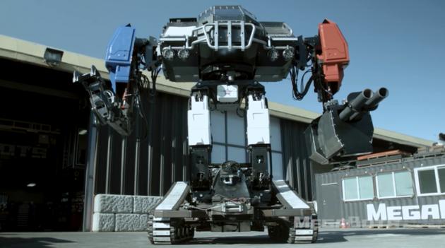 美国MegaBots下月将与日本、中国的巨型机器人厮杀