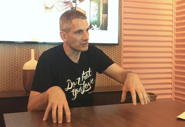 WeWork亚洲董事总经理Chris接受采访