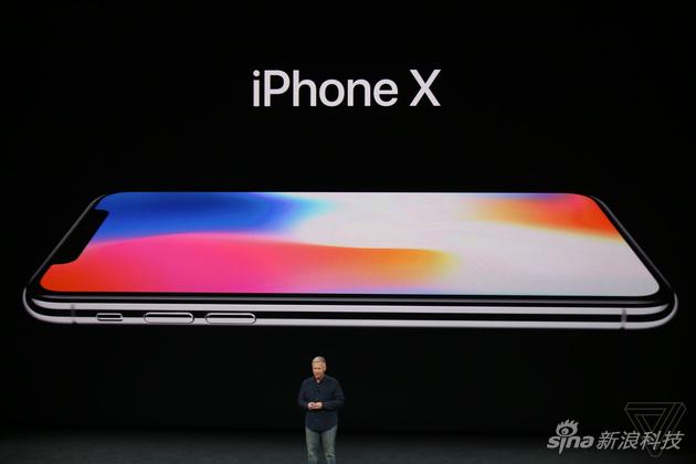 iPhone X发布