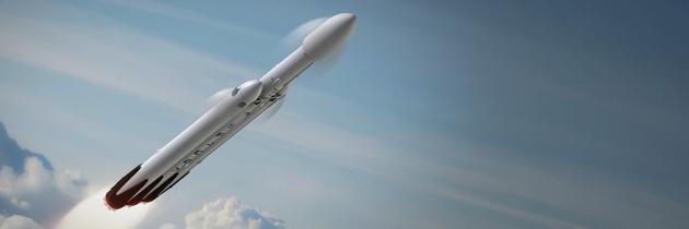 """SpaceX公司計劃2017年底首次發射""""重型獵鷹""""火箭,因為該火箭可以循環使用。"""