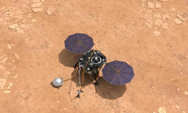 超详细解读:洞察号探测器成功降落火星传回首张图像
