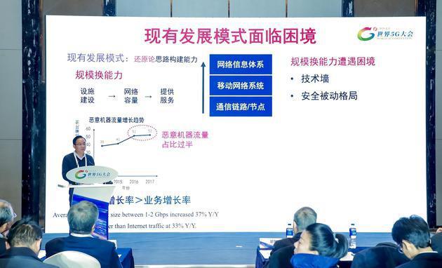 陆建华:5G持续性面临略微严峻的挑战,未来面向网络信息体系的建设
