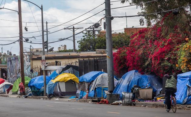 无家可归者是加州严重的社会问题