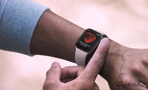 戴好手表,手指触摸表冠完成一次心电图测量