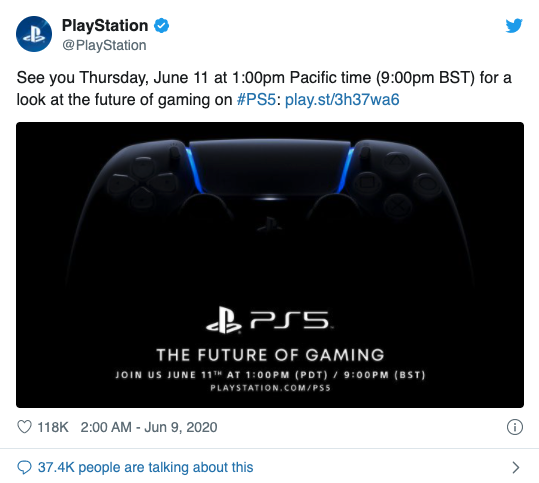 PlayStation官方推特