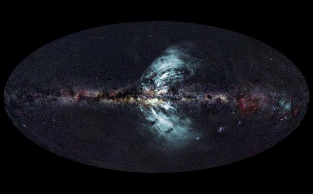"""宇宙中可能有&quot裂缝"""":从地球上还无法观测到的宇宙弦"""