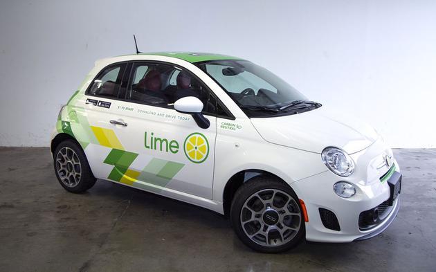 共享出行创企Lime推共享汽车服务:明年初投放1500辆