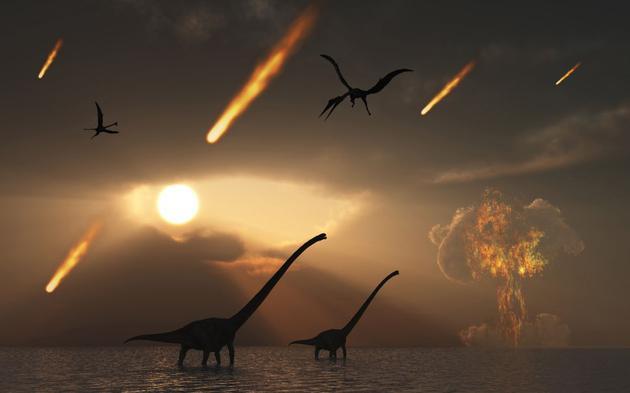 恐龙灭亡罪魁祸首或许不是撞击地球的小行星或彗星