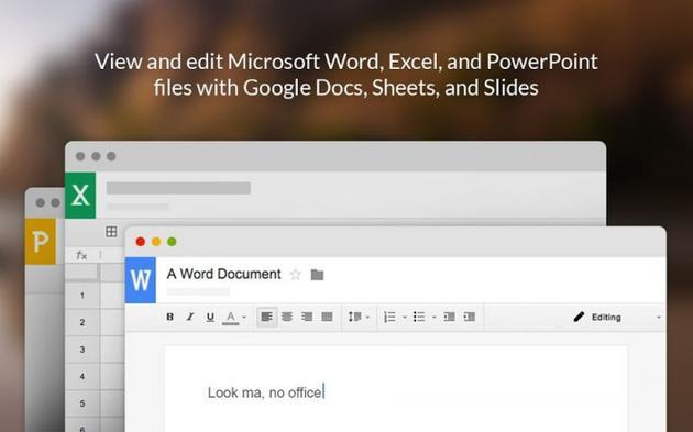 Google Docs等服务即将原生支持微软Office文档