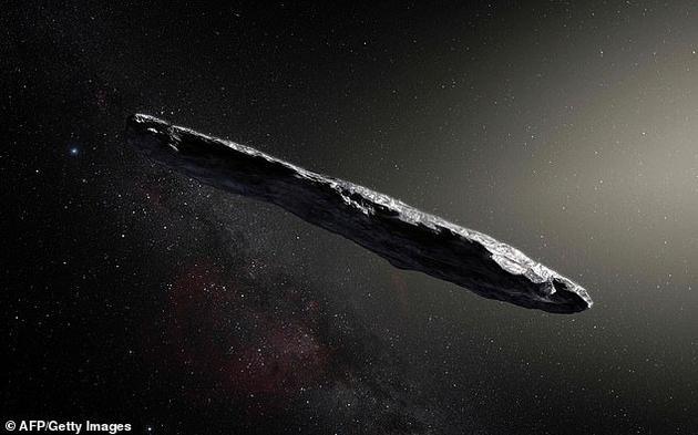 2017年,研究人员首次在太阳系发现系外天体Oumuamua,它呈现神秘的雪茄抛射体结构。