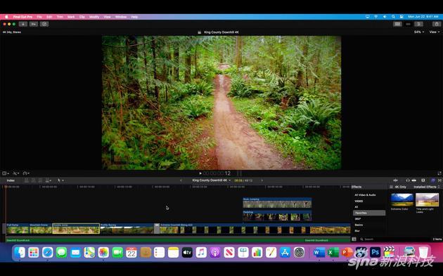 在A12Z上运行的macOS Big Sur已适配Final Cut Pro X