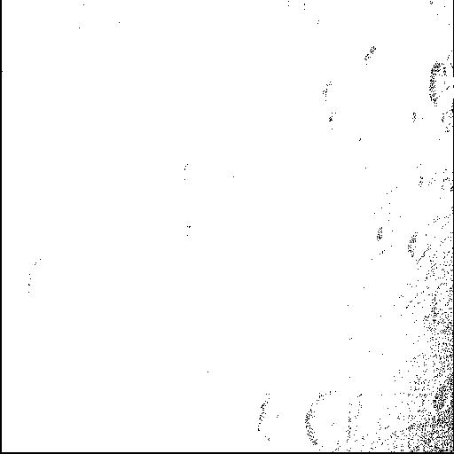图2:木卫三局部细节照片,分辨率在600-900m之间。