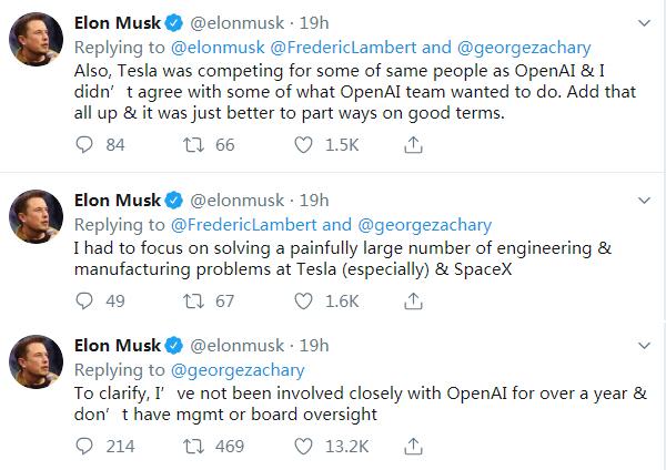 马斯克要专心搞特斯拉和太空项目 计划退出人工智能组织OpenAI