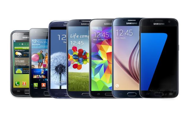 三星Galaxy S系列手机